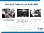 war and technological growth