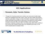 kcc applications
