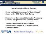www truckingks org awards