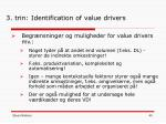 3 trin identification of value drivers8