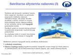 satelitarna altymetria radarowa 3