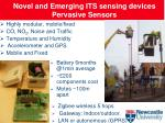 novel and emerging its sensing devices pervasive sensors