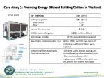 case study 2 financing energy efficient building chillers in thailand