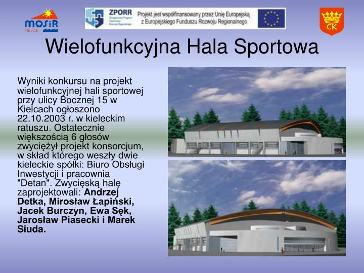 Wielofunkcyjna Hala Sportowa