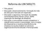 reforma da ldb 5692 71