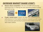 increase market share cont1