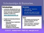 scholarships bursaries
