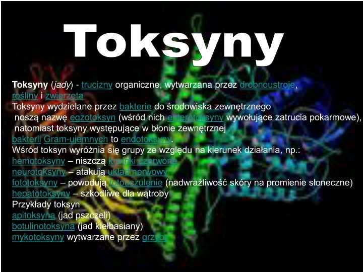 Toksyny