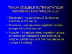 traumatismele extremit ilor descrierea fracturilor cont2