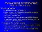 traumatismele extremit ilor leziunile cotului cont