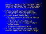 traumatismele extremit ilor schem general de management
