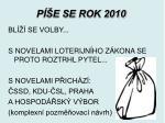 p e se rok 2010