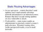 static routing advantages1