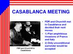 casablanca meeting