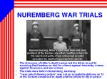 nuremberg war trials