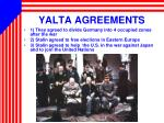 yalta agreements