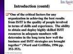 introduction contd