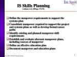 is skills planning luftman et al 2004 pp 171 172