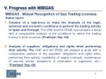 mibgas mutual recognition of gas trading licenses status report