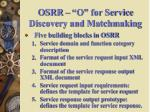 osrr o for service discovery and matchmaking1
