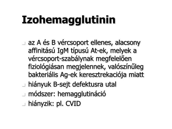 Izohemagglutinin