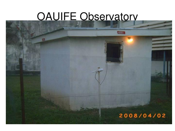 OAUIFE Observatory