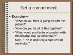 get a commitment1