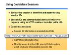 using cookieless sessions