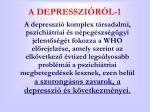 a depresszi r l 1