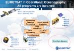 eumetsat in operational oceanography all programs are involved1