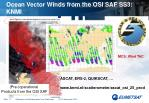 ocean vector winds from the osi saf ss3 knmi