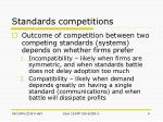 standards competitions