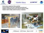 satellite status