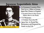 japanese imperialistic aims