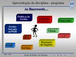 apresenta o da disciplina programa1