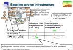 baseline service infrastructure