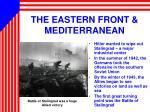 the eastern front mediterranean