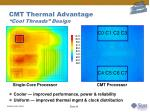 cmt thermal advantage cool threads design