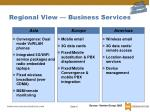 regional view business services
