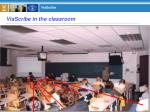 viascribe in the classroom