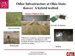 other infrastructure at ohio state kansei a hybrid testbed