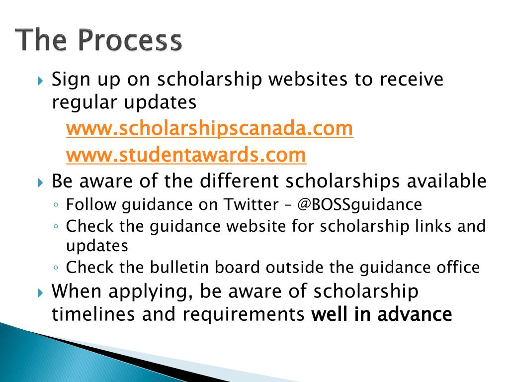 PPT - Scholarship Guide PowerPoint Presentation - ID:4546290
