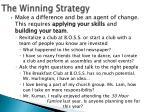 the winning strategy1