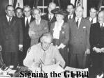 signing the gi bill