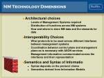nm technology dimensions