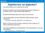 digitelevisio vai digiboksi