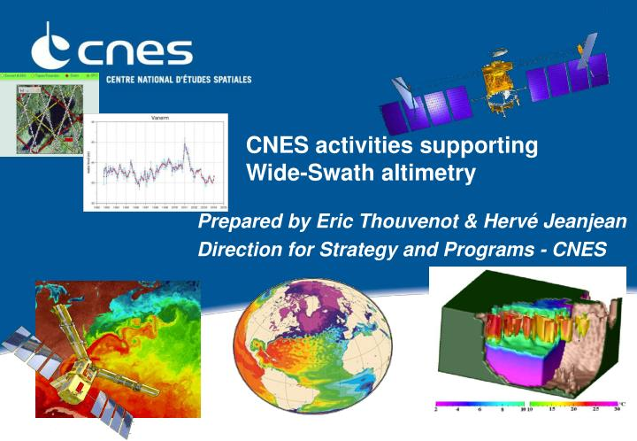 cnes activities supporting wide swath altimetry n.