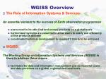 wgiss overview
