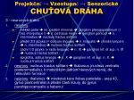projek n vzestupn senzorick chu ov dr ha
