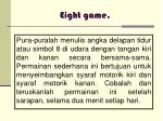 eight game